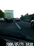 事故渋滞です