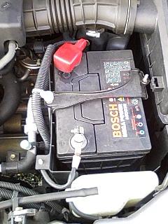 オデッセイのバッテリー交換